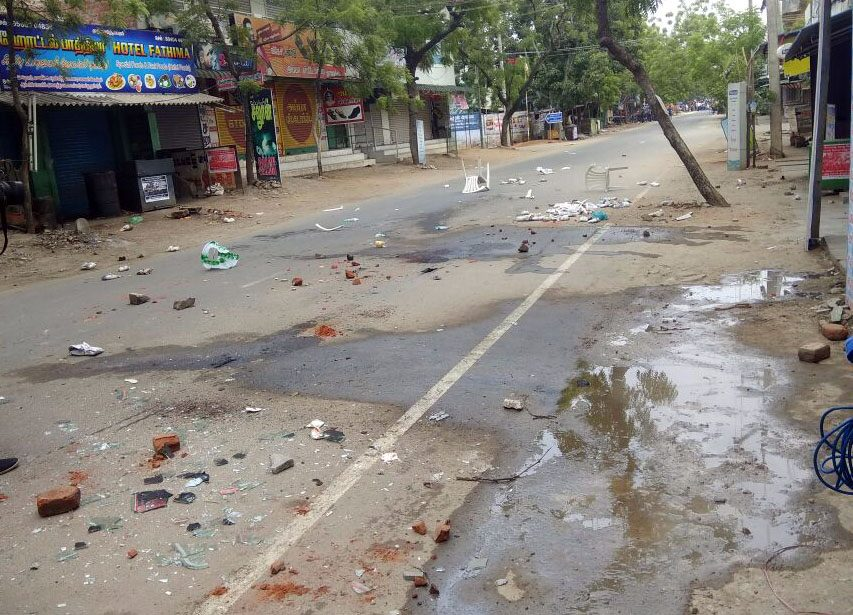 In Tuticorin, an anger that turned radical