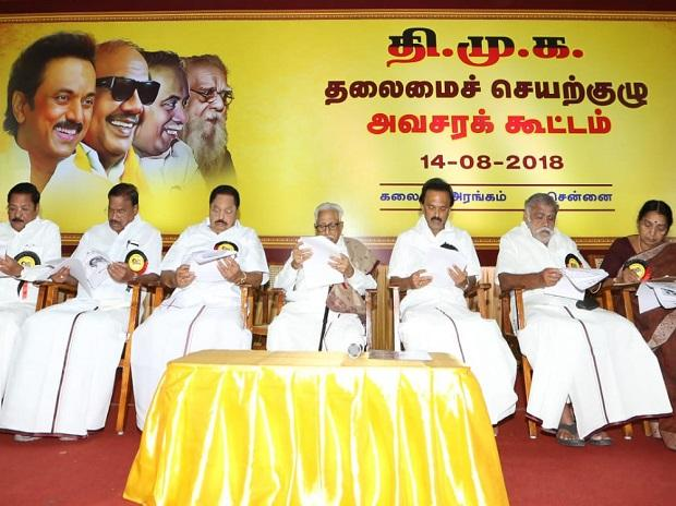 In a show of strength, Stalin demonstrates control of DMK, Alagiri marginalized