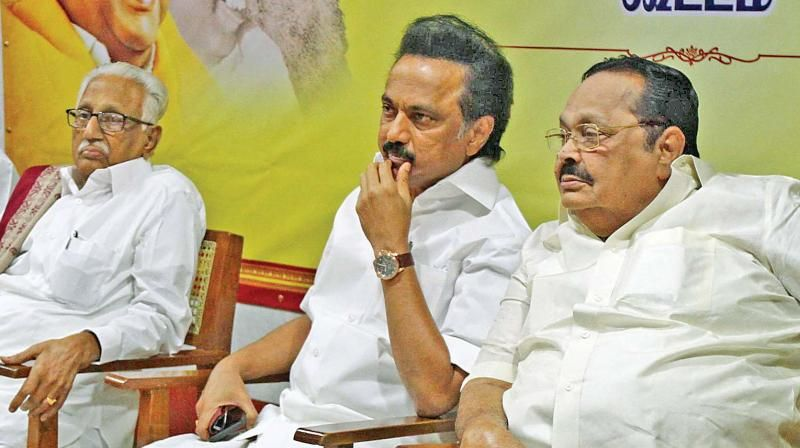 Stalin takes over as second president of DMK; elevation for Durai Murugan
