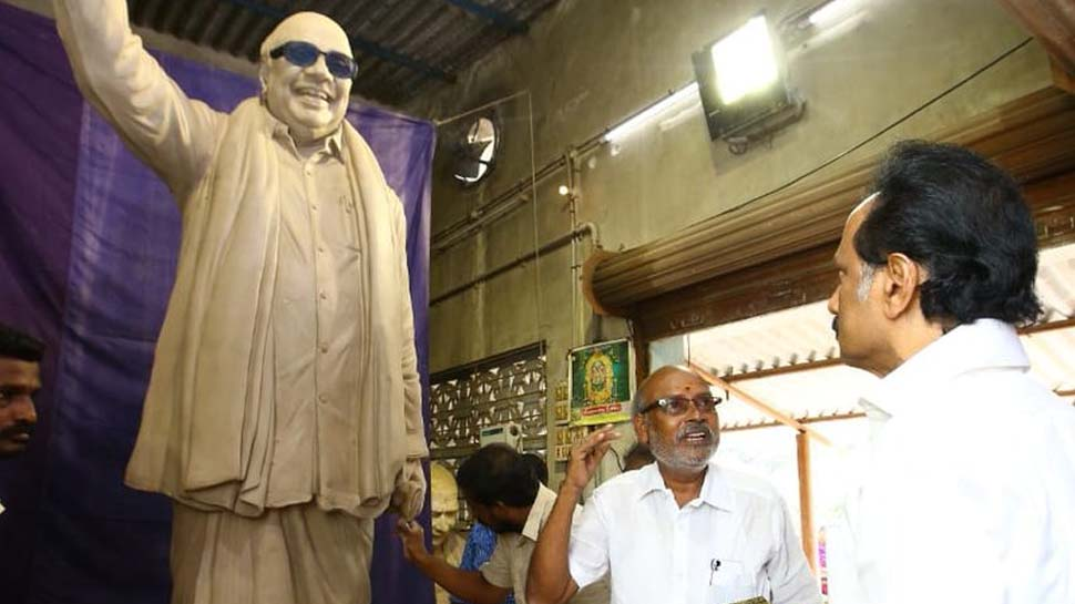 Kalaignar Statue Ready for Installing in Arivalayam : What about one again in Anna Salai?