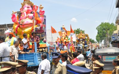 In Chennai, Vinayaka Chathurthi festivals organised by Hindu outfits take root though with little sign of political impact