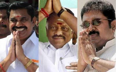 AIADMK develops poll fever yet again; Dinakaran bomb causes implosions in ruling party