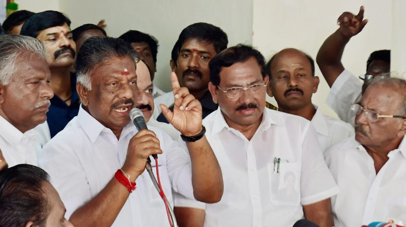 OPS confirms meeting Dhinakaran but denies plan to take over as CM